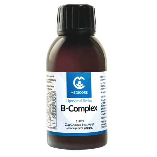 Vitamins B Complex 150ml Λιποσωμιακή Φόρ
