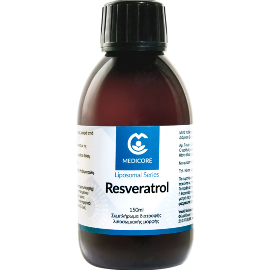 Resveratrol 200mg MediCore® Λιποσωμιακή