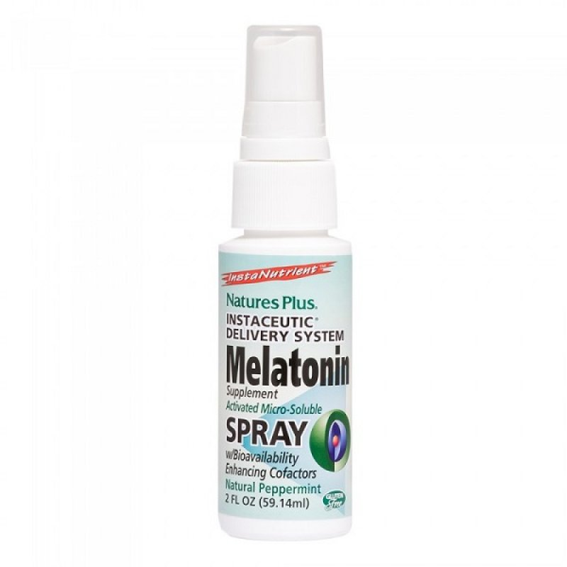 Natures Plus Melatonin Spray 2 Oz 59.14ml