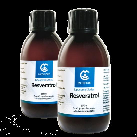 1+1 ΔΩΡΟ MediCore Liposomal Resveratrol