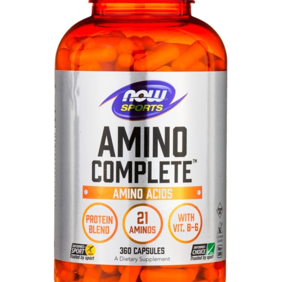 Now Foods® AMINO COMPLETE™ 750 mg (Natur