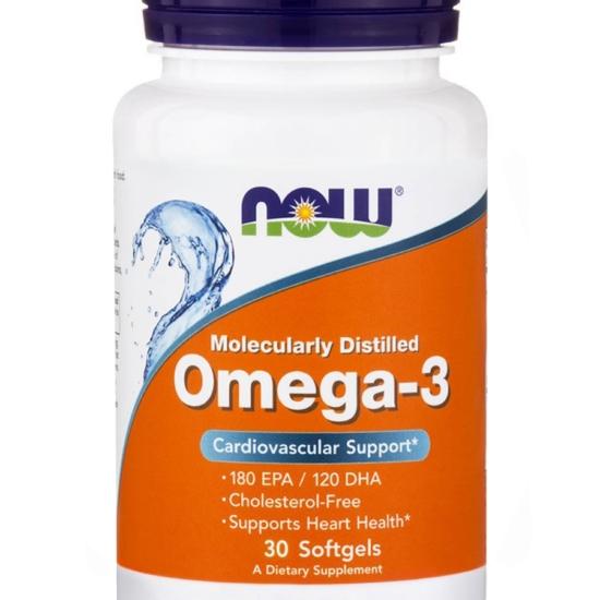 NowFoods® OMEGA-3 1000 mg - 30 Softgels