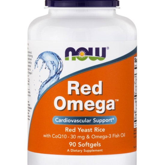 NowFoods® RED OMEGA™ (Salmon Oil 1000 mg