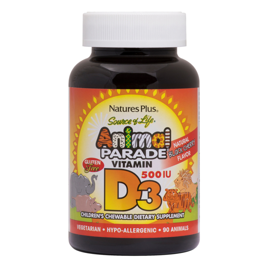 Natures Plus Animal Parade Vitamin D3 90