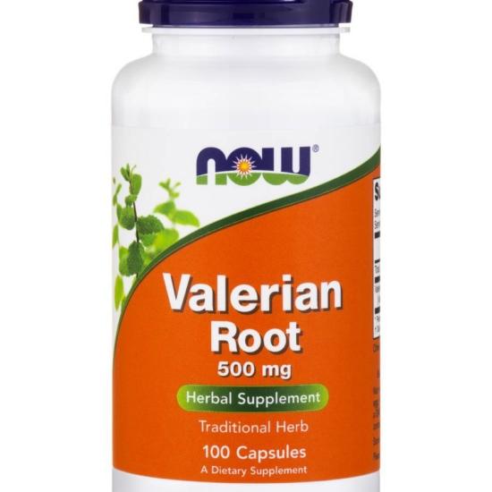 NowFoods® Valerian Root 500 mg - 100 Cap