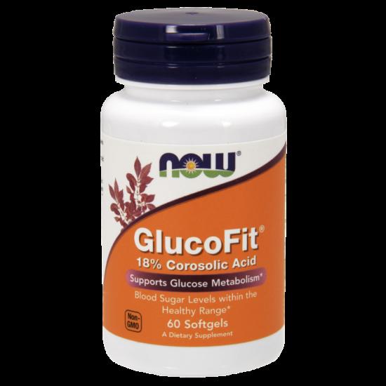 NowFoods® GLUCOFIT® 18% Corosolic Acid -
