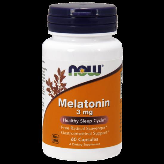 NowFoods® Melatonin 3 mg - 60 Caps