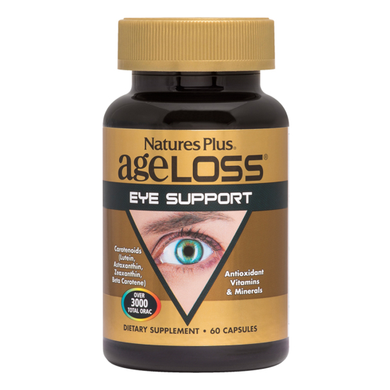 Natures Plus Ageloss EYE Support 60Vcaps