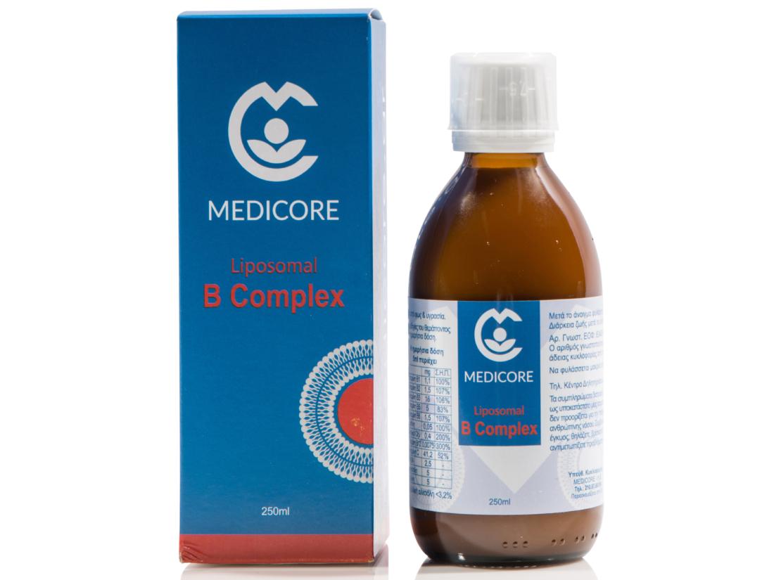 Λιποσωμιακή φόρμουλα B-Complex MediCore® 250ml