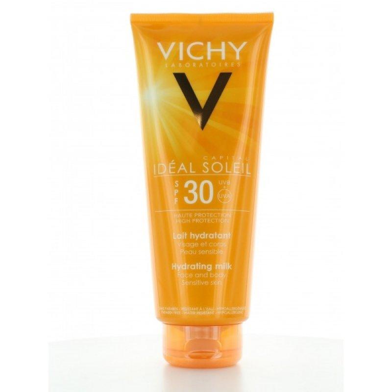 Vichy Capital Ideal Soleil Ενυδατικό Αντηλιακό Γαλάκτωμα SPF30 300ml