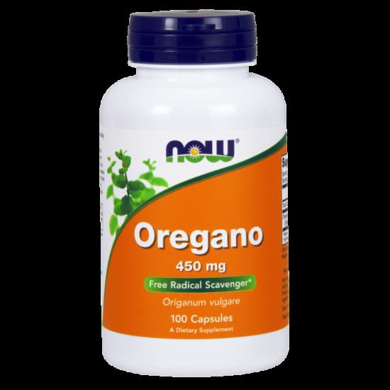 NowFoods® Oregano 450 mg - 100 VCaps®