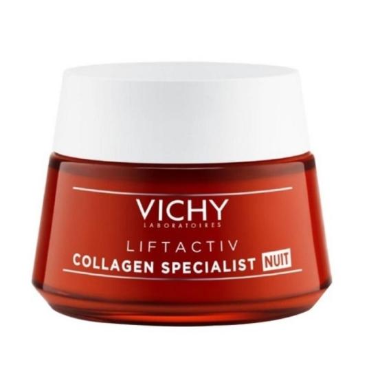 Vichy Liftactiv Κρέμα Νυκτός Με Κολλαγόν