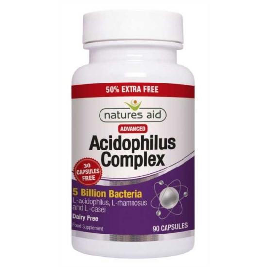 Acidophilus Complex 5 billion 90 κάψουλε