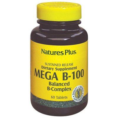 Natures Plus MEGA B-100 Complex 60 tabs
