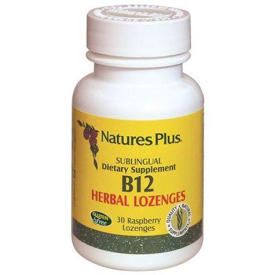 Natures Plus Vitamin B-12 1000mcg 30Loze