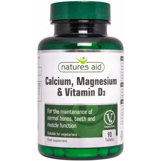 Calcium Magnesium and Vitamin D3 90 ταμπ