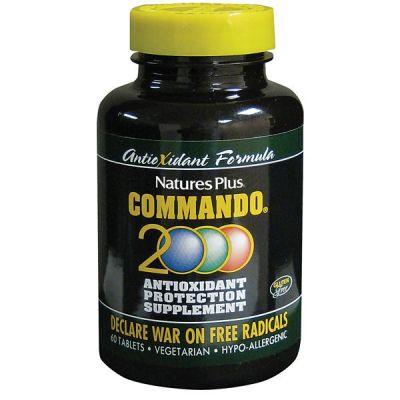 Natures Plus Commando 2000 60 Tabs