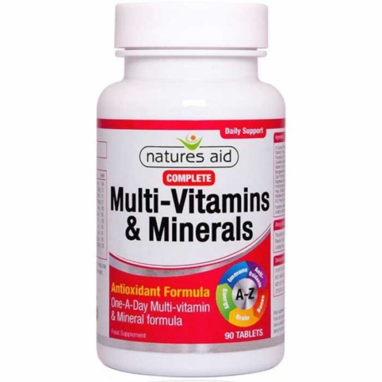 Complete Multi-Vitamins & Minerals N