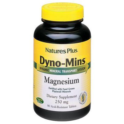 Natures Plus Magnesium Dyno-Mins 250mg 9