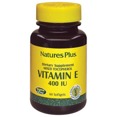 Natures Plus Vitamin E 400 IU 60 Softgel