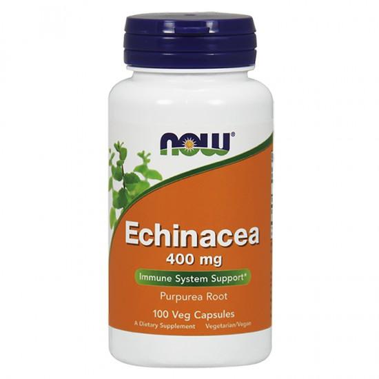 NowFoods® Echinacea Root 400mg (Purpurea Root) - 100 Caps