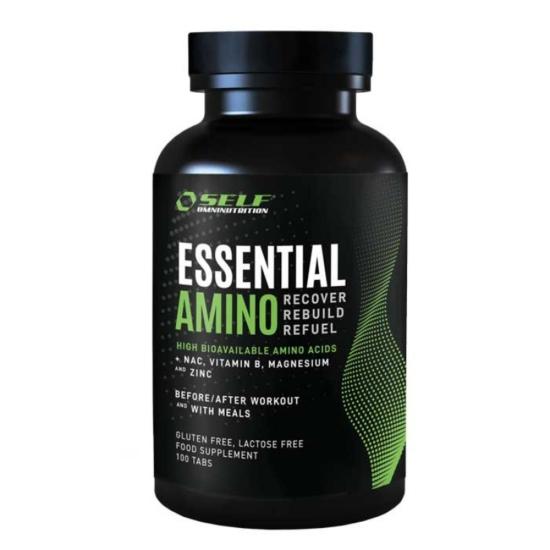 Essential Amino 100 tabs - Self Omninutr