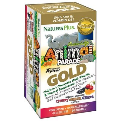 Natures Plus Animal Parade Gold Assorted