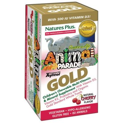 Natures Plus Animal Parade Gold Cherry 6