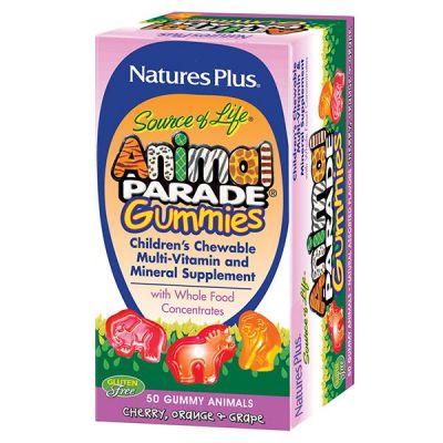 Natures Plus Animal Parade 50 Gummies Ch