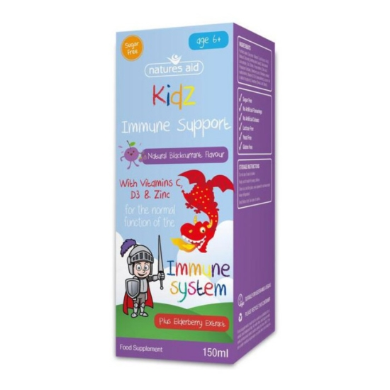 Kidz Immune Support 150ml - Natures Aid