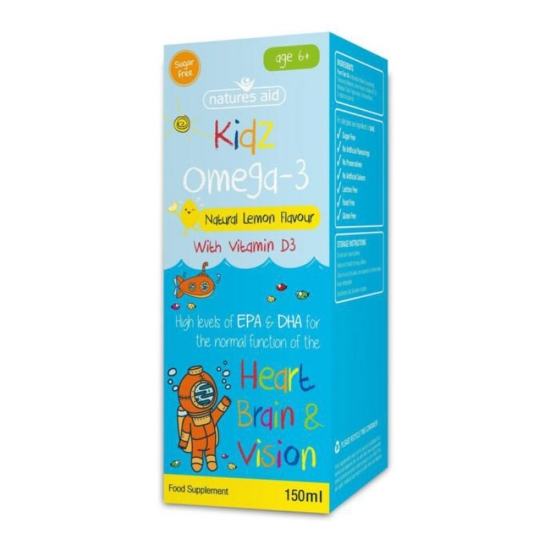 Kidz Omega-3 (με Βιταμίνη D3) 150ml - Na