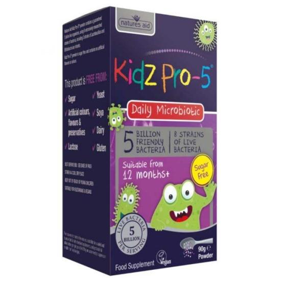Kidz Pro-5 Daily Microbiotic 5 Billion F
