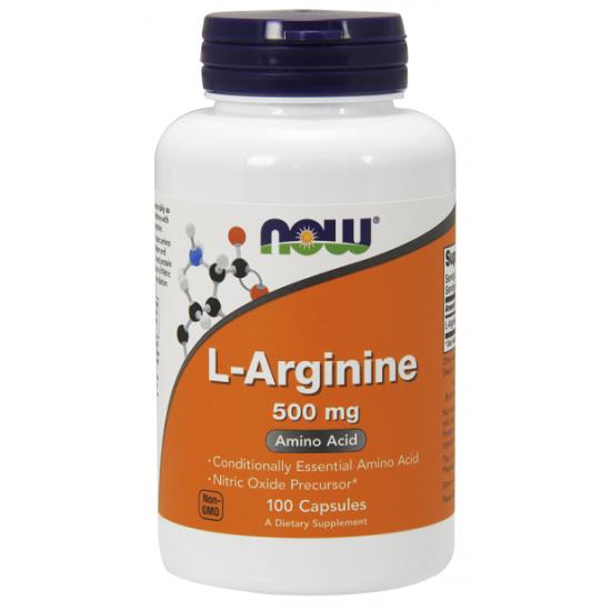 NowFoods® L-Arginine 500 mg - 100 Caps