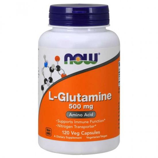 NowFoods® L-Glutamine 500 mg - 120 Caps
