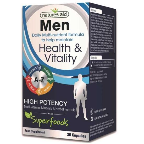 Natures Aid Men Multi Vitamins & Min