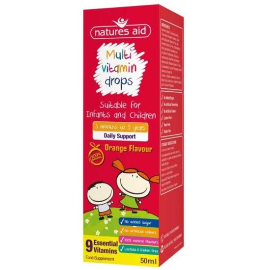 Multi-vitamin Mini Drops για βρέφη και π