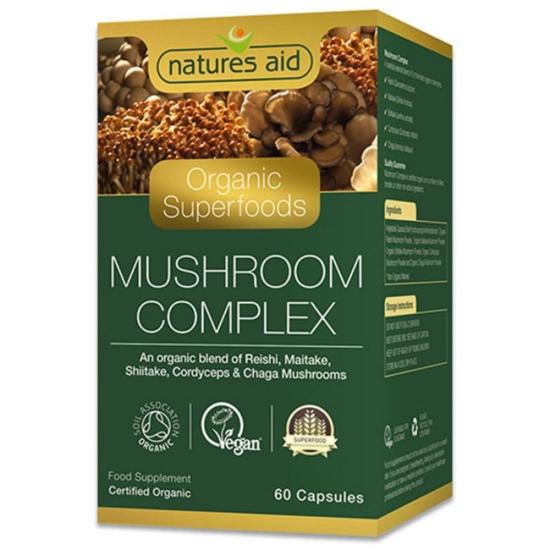 Organic Mushroom Complex 60 κάψουλες - N
