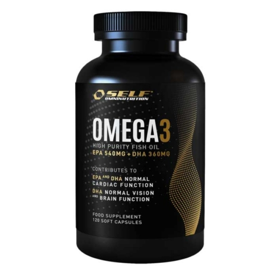 Omega 3 Fish Oil 120 κάψουλες - Self / Λ