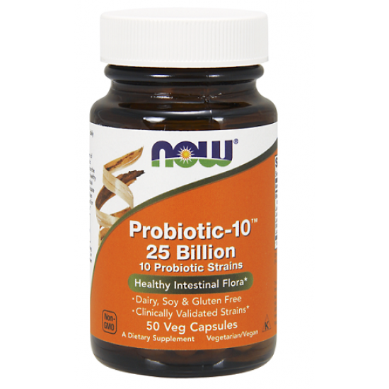 NowFoods® Probiotic-10™ 25 Billion - 50