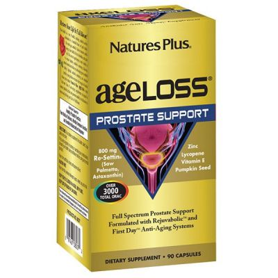 Natures Plus Ageloss PROSTATE Support 90