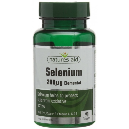 Selenium Elemental 200mg 90 ταμπλέτες Na