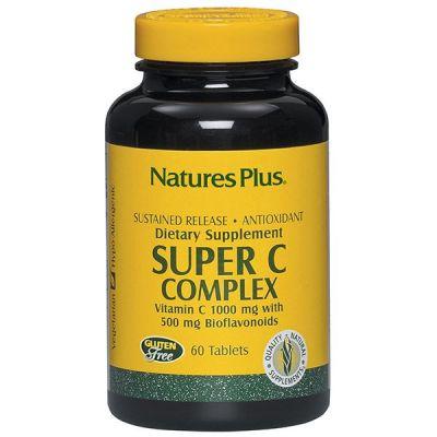 Natures Plus Super C Complex 60Tabs