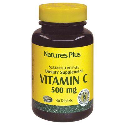 Natures Plus Vitamin C 500 mg 90 tabs
