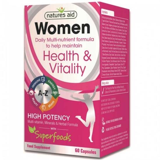 Women's Multi-Vitamins & Minerals 60