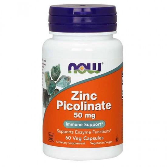NowFoods® Zinc Picolinate 50 mg - 60 Caps