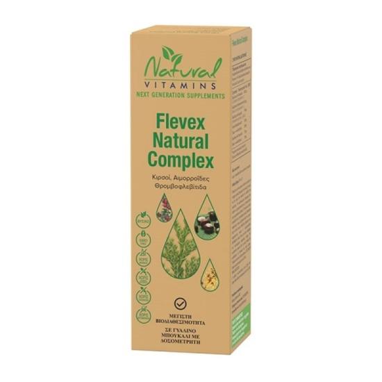 Natural Vitamins Flevex Natural Complex