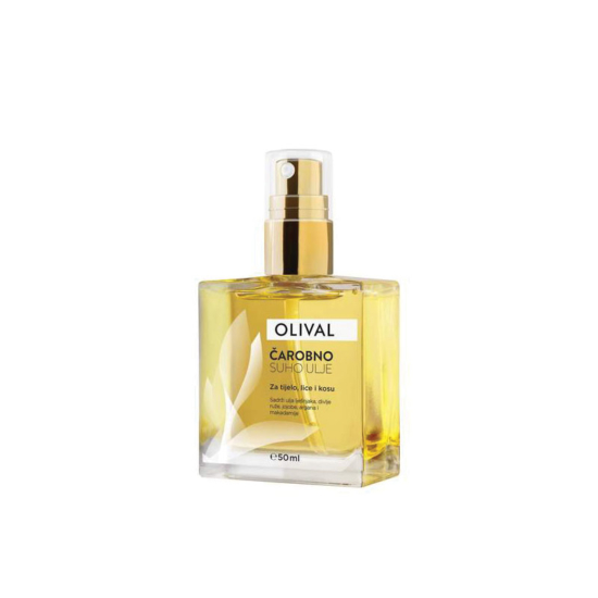 Olival Magical Dry Oil για μαλλιά, πρόσω
