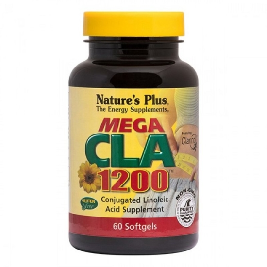 Natures Plus MEGA CLA 1200mg 60Caps