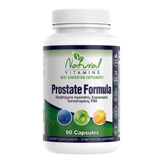 Natural Vitamins Prostate Formula 90Caps