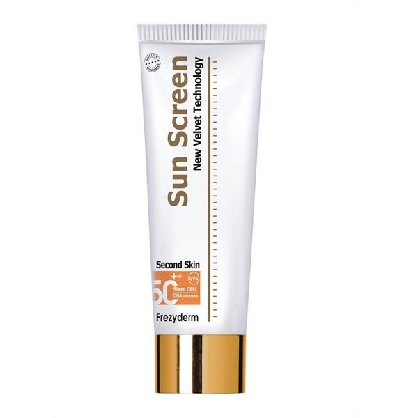 Frezyderm Sunscreen Second Skin Body Lotion SPF50 125ml